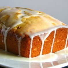 A lighter version of lemon pound cake that's so moist and flavorful you would never know it's low fat!