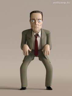 Christopher Walken by Kibooki