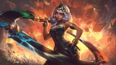 League of Legends item Classic Qiyana at MOBAFire. League of Legends Premiere Strategy Build Guides and Tools. Memes League Of Legends, League Of Legends Poppy, Champions League Of Legends, Lol Champions, Age Of Mythology, Miss Fortune, Campeoes Lol, New League Champion, Elemental Magic