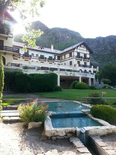 Reserva Natural Villavicencio but the hotel has sadly been closed for many years. What a terrible shame.