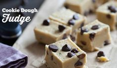 Cookie Dough Fudge on www.PopularPaleo.com