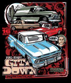 Git-Down 2012 by Brian Stupski, via Behance