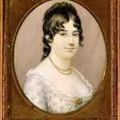 Oil painting reproductions - Portraits - Aline Alaux: Mrs James Madison