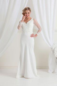7 flattering wedding dresses to suit older brides                                                                                                                                                     More