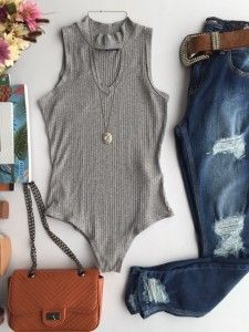 Blusas Feminina Estacao Store Teenager Outfits, Girl Outfits, Fashion Outfits, Casual Dresses, Casual Outfits, Cute Outfits, Fall Winter Outfits, Summer Outfits, Cute Bodysuits