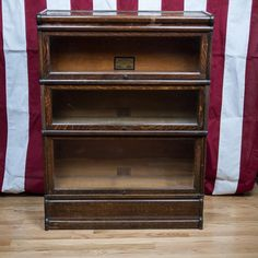 Antique Globe-Wernicke Oak Barrister Bookcase in Lower Manhattan, New York County ~ Krrb Classifieds