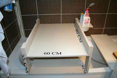 TABLE A LANGER pour baignoire                                                                                                                                                                                 Plus