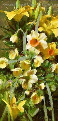 Spring Composition - Oil by Daniel J. Keys
