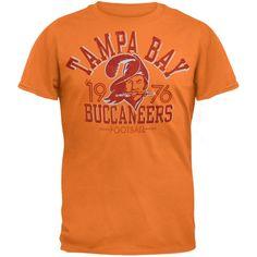 Tampa Bay Buccaneers - Logo Fadeaway Premium T-Shirt