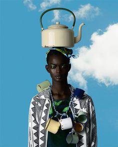 devoutfashion:  African Odyssey by Kevin Mackintosh & Daryl McGregor with Adau Mornyang & Adidas.