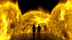 Caminhe no Sol sem se queimar (em uma exposição da NASA)