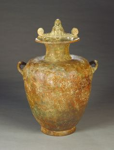 Hydria. Artist/Maker(s): Unknown. Culture: Greek. Place(s): Greece (Place created). Date: 460 B.C.