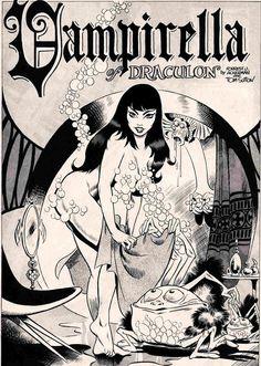 I Love Pin-ups - hoodoothatvoodoo: Vampirella