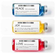 Human Feelings packaged as drugs, Valerio Roi