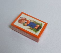NIP Raggedy Andy Miniature Playing Cards by RaindropVintageShop