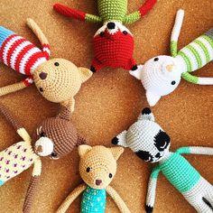 Amigurumis hechos por Florencia Rodríguez para Kitsune Shop. Conseguilos en https://www.facebook.com/holakitsuneshop/