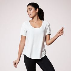 Les Sublimes Stockholm Tee in White