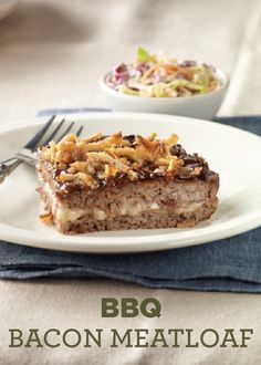 Put all the flavors of a summer barbeque in a meatloaf dinner with this BBQ Bacon Meatloaf recipe!