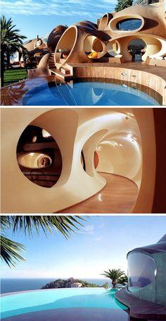 Pierre Cardin's Bubble Palace in Cannes