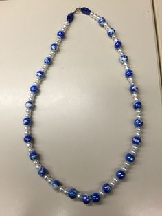 Beaded necklace. Will be a diffuser necklace