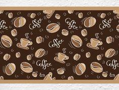 Bordüre mit Coffee Schriftzug für die Küche