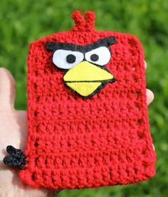 Angry Birds Crochet & Felt  Mobile / Cell Phone Cover