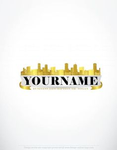 Exclusive Logo Design: Gold City Logo images   FREE Business Card
