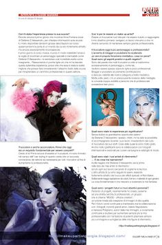 my interview with Davide Maisano in the magazine Gallery Nails and Make up