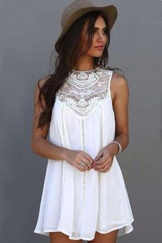 'Gypsy' Lace Dress