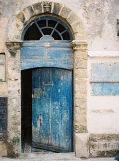 Old Blue Door in Morocco | photography by http://photographybycatherine.co.uk/