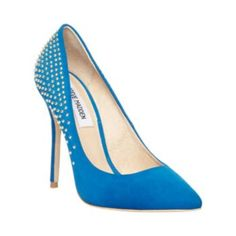 INNFERNO BLUE women's dress high pointy toe - Steve Madden