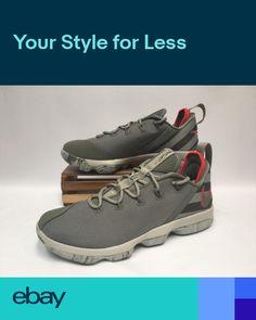 86a028183a2 Nike Lebron 14 XIV Low Basketball Shoes Dark Stucco Crimson 878636-003 Mens  NEW