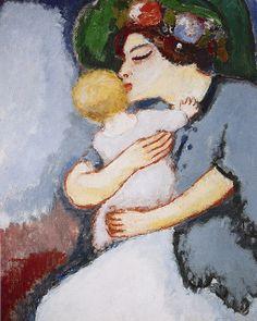Kees van Dongen - My Kid and Her Mother (1907)