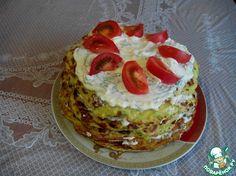 Кабачковый торт с плавлеными сырками ингредиенты