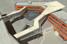 Школа в Щукино | Архитектурная мастерская Атриум
