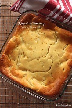 Klapertart Bandung – Coconut Choux Cake