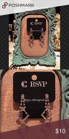 💎💎Rhinestone Statement Earrings💎 💎 💎💎Rhinestone Statement Earrings💎 💎 Charming Charlie Jewelry Earrings