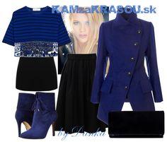 #kamzakrasou #sexi #love #jeans #clothes #dress #shoes #fashion #style #outfit #heels #bags #blouses #dress #dresses #dressup #trendy #tip #new #kiss #kisses Modro čierny utorok - KAMzaKRÁSOU.sk