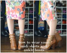 For the last few months I've been doing a series on ankle boots.
