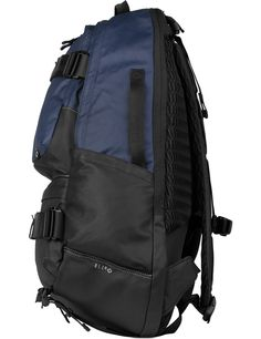 Shop BLCbrand Navy N060 Definition Backpack Coated Edition at HBX. Free…
