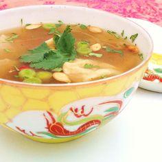 Thai Squash Wonton Soup Recipe on Food52 recipe on Food52
