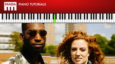 """Tinie Tempah - """"Not Letting Go"""" ft  Jess Glynne (How To Play Piano Tutorial Chords & Melody)"""