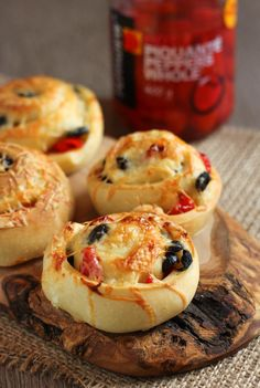 Black olive and Peppadew cheese rolls - an easy party snack that requires zero skill, any effort, and less than 10 minutes of prep time!