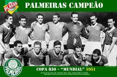 Palmeiras campeão Mundial de 1951