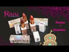 Rani Cosmetics Sparked Dazzling Lipsticks | Review Swatches