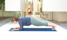 Dolphin Plank Pose  - 7 Invigorating Yoga Poses