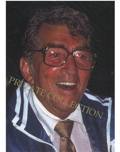 Dean Martin Great Candid Photo Taken at His Ranch in California in the 1980's
