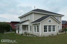 Moderner Schweizer im Landhausstil Greenville - Architektur