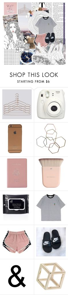 """""""So many tears for nothing"""" by gabbie-m ❤ liked on Polyvore featuring HAY, Fujifilm, Monki, Royce Leather, GET LOST and Topshop"""