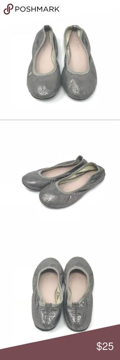 Ruby & Bloom metallic silver ballet flats •Ruby & Bloom ballet flats in a silver metallic  •Like new condition •Size   •I am a: Posh Ambassador, top 10% seller, top rated seller, Posh mentor & ship same day/next day!  ⭐️❤️FREE Matching hair accessory with purchase!❤️⭐️ •Smoke & pet free home •Browse my closet for dozen of amazing designers such as.. tucker + Tate, Tea Collection, Mini Boden, UGG, GAP, Juicy Couture, Lululemon & many more! ruby & bloom Shoes Dress Shoes